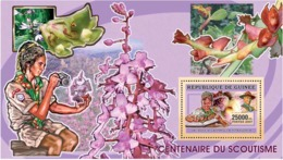 Guinea 2006 Scouts ,flowers ,orchids ,cactus - Guinea (1958-...)
