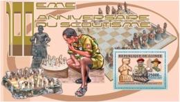 Guinea 2006 Scouts ,chess - Guinea (1958-...)