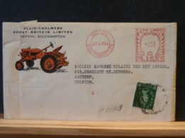 A10/349  LETTER 1954 TO BELG. - Lettres & Documents