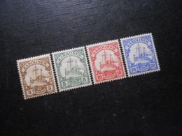 D.R.7-10 - 3/5/10/20Pf*MLH - Deutsche Kolonien (Karolinen) 1900  Mi 5,00 € - Colony: Caroline Islands