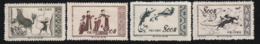 CHINE - 1952 - N°943/6 ** - Peintures Murales De Tun Huang - 1949 - ... République Populaire