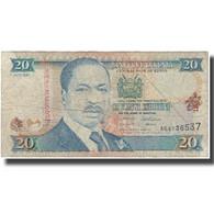 Billet, Kenya, 20 Shillings, 1995-07-01, KM:32, B - Kenia