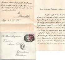 1570b: Brief 29.11.1897 Steyr Nach Eberstein, Mit Vollem Briefinhalt - Entiers Postaux