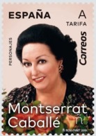 ESPAGNE SPANIEN SPAIN ESPAÑA 2019 SOPRANO LYRIC SINGER: MONTSERRAT CABALLÉ MNH ED 5320 YV  5061 MI 5355 - 2011-... Unused Stamps