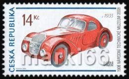 Czech Republic - 2008 - Centenary Of National Technical Museum - Jawa 750 - Mint Stamp - Repubblica Ceca