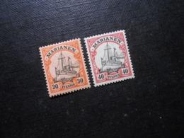 D.R.Mi 12/13 - 30/40Pf**MNH - Deutsche Kolonien ( Marianen ) 1901 - Mi 9,50 € - Colony: Mariana Islands