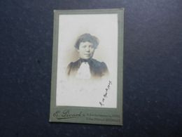 7ogg) ANTICA FOTOGRAFIA FOTOGRAFO PHOTOGRAPHIE PICART PARIS RUE COMMERCE VERSAILLES RUE S. HONORE - Antiche (ante 1900)