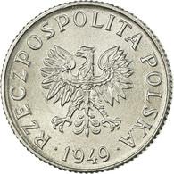Monnaie, Pologne, Grosz, 1949, SUP+, Aluminium, KM:39 - Pologne