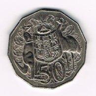 //  AUSTRALIE  50 CENTS  1979 - Monnaie Décimale (1966-...)