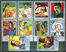 Art, Peinture - YEMEN - Impressionniste - Paul Gauguin - N° 192 - A.82 - 1968 - Yémen