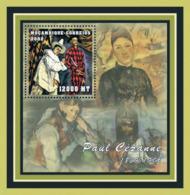 Mozambique 2001 - Paul Cezanne S/s - Mozambique
