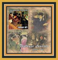 Mozambique 2001 - Toulouse Lautrec S/s - Mozambique