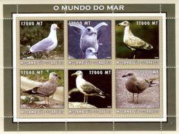 Mozambique 2002 - Herring Gull 6v - Y&T 2222-2227, Michel 2650-2655, Scott 1662. - Mozambique