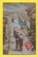 CPA  COUPLE ROMANTIQUE Chemin Du BONHEUR   ☺♦♦  1916 - Couples