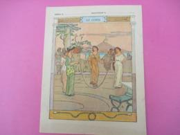 Couverture De Cahier écolier/ Les Sports/La Corde /Delagrave /Vers1900          CAH274 - Löschblätter, Heftumschläge