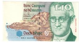 Ireland 10 Pounds 27/04/1994 AUNC- - Irland