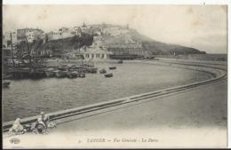 TANGER - Vue Générale - La Darse 1919 - Tanger