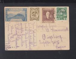KuK PK 1918 Verschiedene Spendemarken - Briefe U. Dokumente