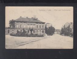 Lothringen Frankreich France AK Saarburg Post Und Stadteingang - Lothringen