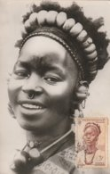 Carte Maximum  - Afrique Occidentale - Jeune Femme Somono - Soudan