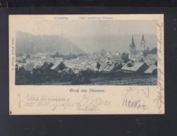 Dt. Reich AK Rhaunen 1901 - Birkenfeld (Nahe)