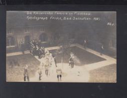 Dt. Reich AK Kaiserliche Familie In Fischbeck Bad Salzuflen 1909 - Bad Salzuflen