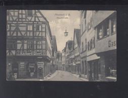 Dt. Reich AK Mosbach Hauptstrasse - Mosbach