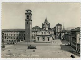 TORINO  CHIESA  E  PIAZZA  S. GIOVANNI        (VIAGGIATA) - Italia