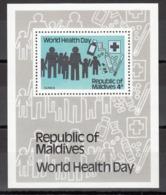 MALDIVES, 1989  Yvert Nº HB 69  MNH,  Día Mundial De La Salud, Día Mundial De La Salud - Maldivas (1965-...)