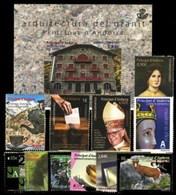 Andorra 427/438 ** 2015 Año Completo - Andorra Española