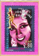 Tb037 Joséphine BAKER 1906-1975 Représentation Timbre YT 2899 MIELHE-SIRAN 1994 - Timbres (représentations)