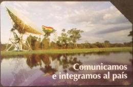 Telefonkarte Bolivien - Landschaft - Satellit  - 04/99 - Bolivien
