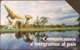 Telefonkarte Bolivien - Landschaft - Satellit  - 12/99 - Bolivien