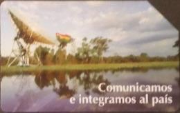 Telefonkarte Bolivien - Landschaft - Satellit  - 12/98 - Bolivien