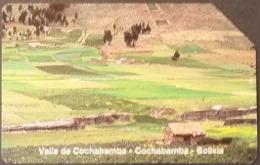 Telefonkarte Bolivien - Landschaft - Valle De Cochabamba - Bolivien