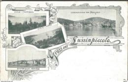 MALI LOŠINJ LUSSINPICCOLO, HRVATSKA CROATIA, PC, Circulated 1898 - Croatia