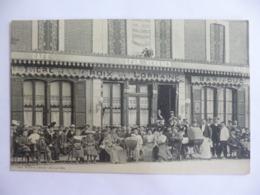 Aix En Othe. Café Léon Vernhes. - France
