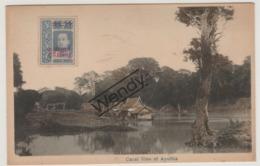 Canal View Of Ayuthia - Thaïlande