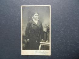 7ogg) ANTICA FOTOGRAFIA FOTOGRAFO Z. GUGLIELMO GENOVA CORSO BUENOS AYRES PHOTOGRAPHIE - Antiche (ante 1900)