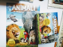 Animali Nel Mondo Album Vuoto+box 100 Bustine FOL. BO Del 2011 - Adesivi