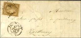 PC 2383 / N° 1 Càd PARTHENAY (75) Sur Lettre Locale. 1853. - TB. - 1849-1850 Cérès