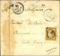 PC 595 / N° 1 Leg Def Cursive 11 / Campagnac. 1852. - B / TB. - R. - 1849-1850 Ceres
