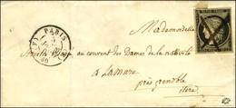 Plume / N° 3 Infime Def Càd (F) PARIS (F) 60 5 JANV. 49. - TB. - R. - 1849-1850 Cérès