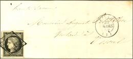 Grille / N° 3 Leg Def Càd T 15 BELLEY (1). 1849. - TB. - 1849-1850 Ceres