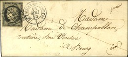 Grille / N° 3 Càd T 15 ST TRIVIER-DE-COURTES / 1. 1850. - TB / SUP. - R. - 1849-1850 Ceres