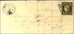Grille / N° 3 Càd T 15 PEYROLLES (12). 1849. - TB. - 1849-1850 Ceres