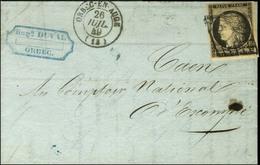 Grille / N° 3 Càd T 15 ORBEC-EN-AUGE (13). 1849. - TB / SUP. - 1849-1850 Ceres