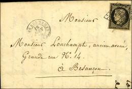 Grille / N° 3 Leg Def Càd BEAUME-LES-DAMES. 1850. - TB. - 1849-1850 Cérès