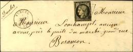 Grille / N° 3 Leg Def Càd T 15 VERCEL (24). 1849. - TB. - 1849-1850 Ceres