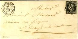 Grille / N° 3 Càd T 15 PIERREFONTAINE-LES-VARANS 24. 1849. - TB. - 1849-1850 Cérès